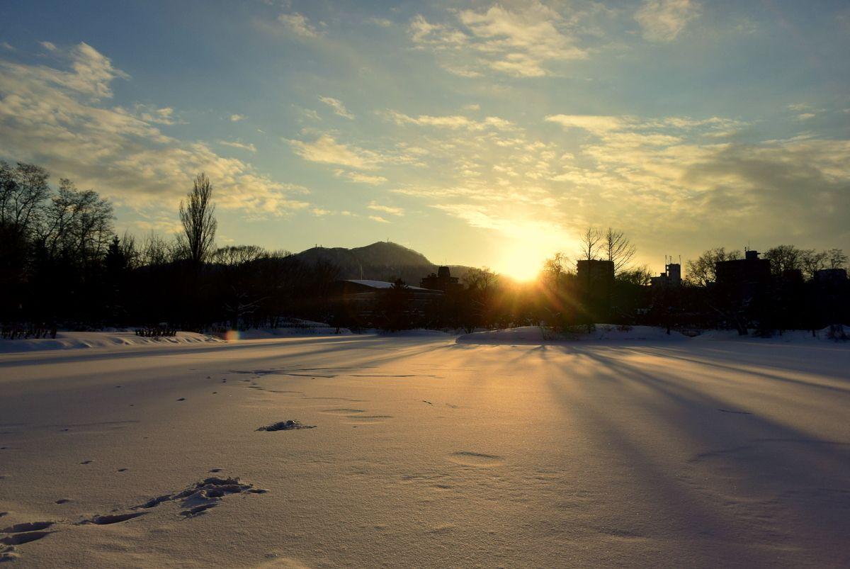 心洗われる冬景色を満喫!