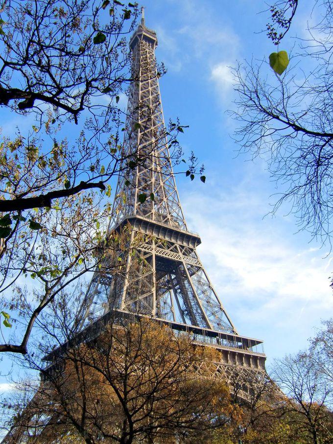 パリのランドマークタワー「エッフェル塔」そのものが絶景