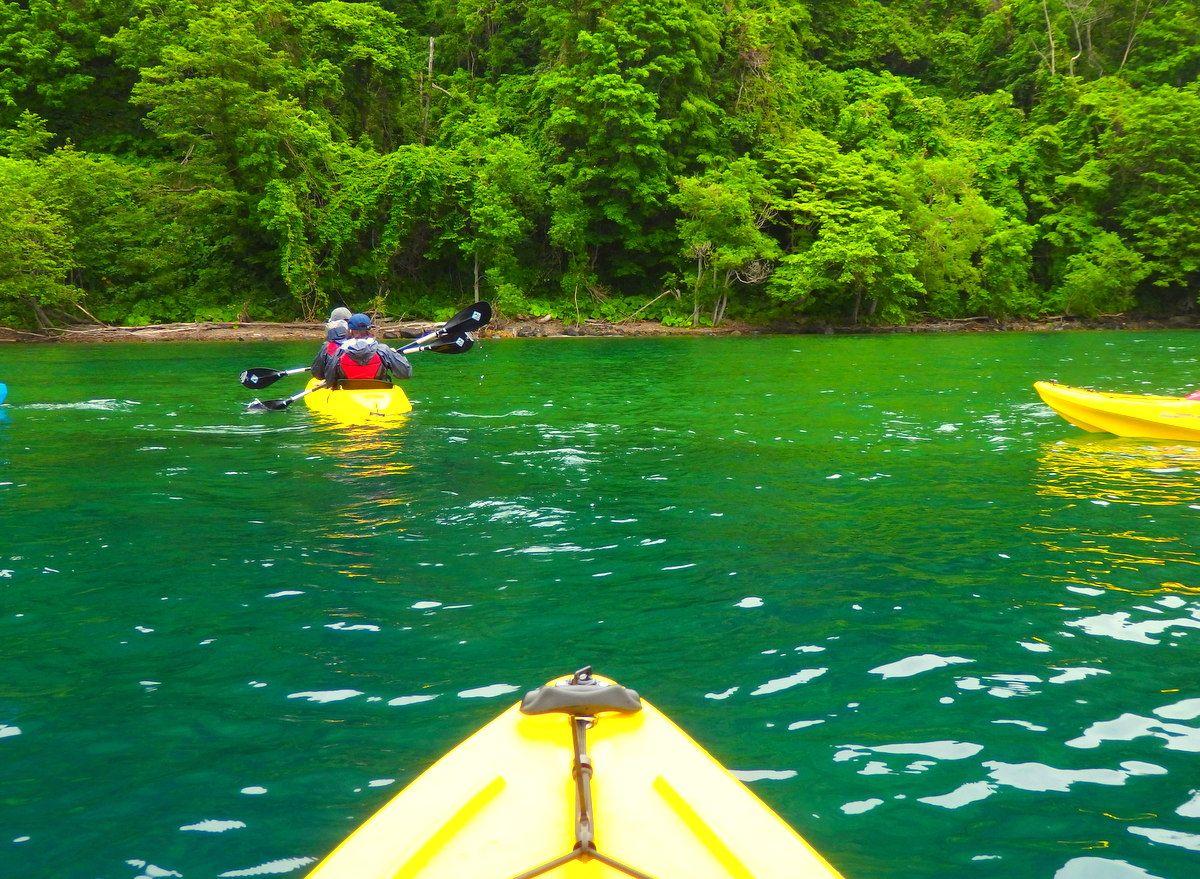 水質日本一の美しさ!支笏湖の絶景エメラルドグリーンの湖面