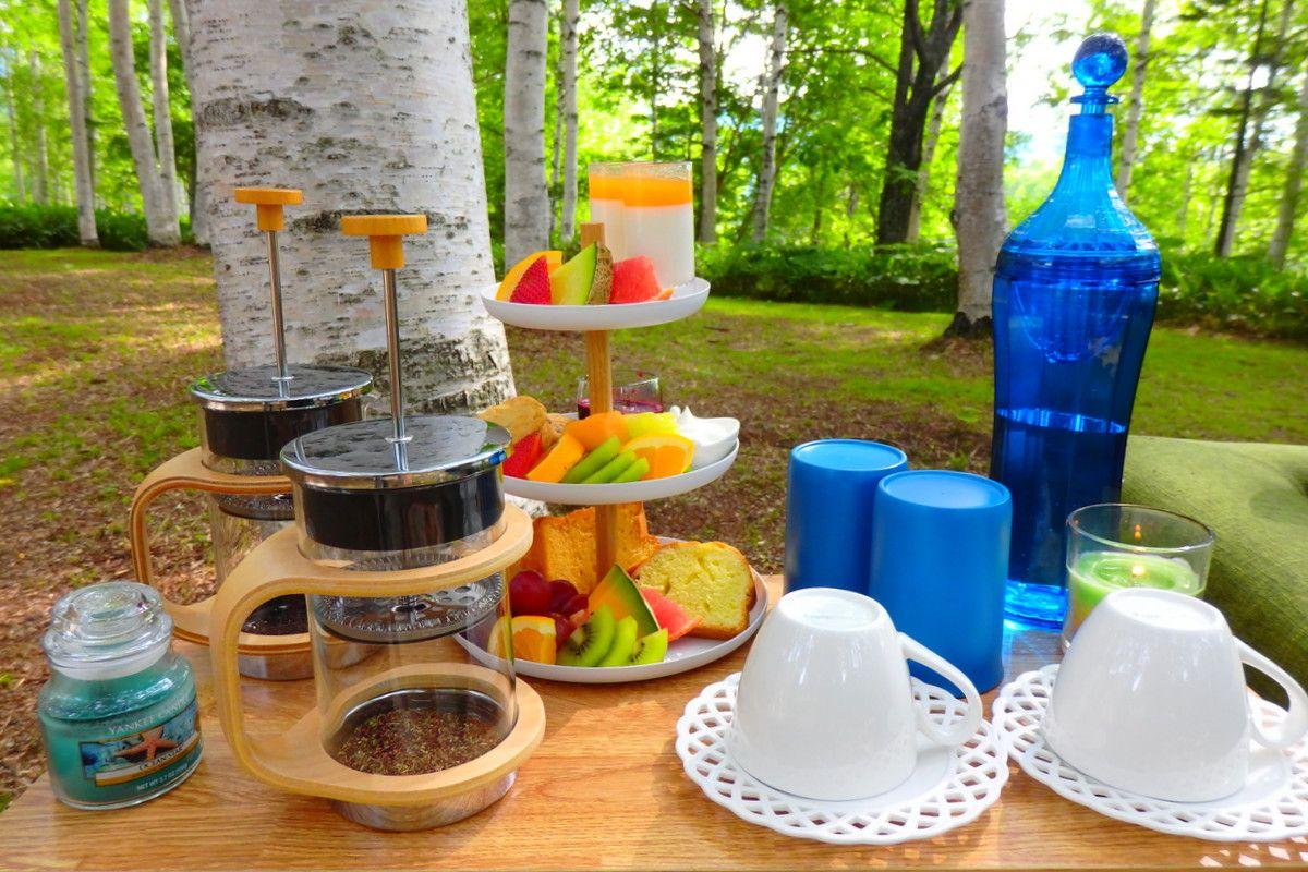 どんなハイセンスのデザインだって敵わない!自然の美しさを存分に味わえるピクニック