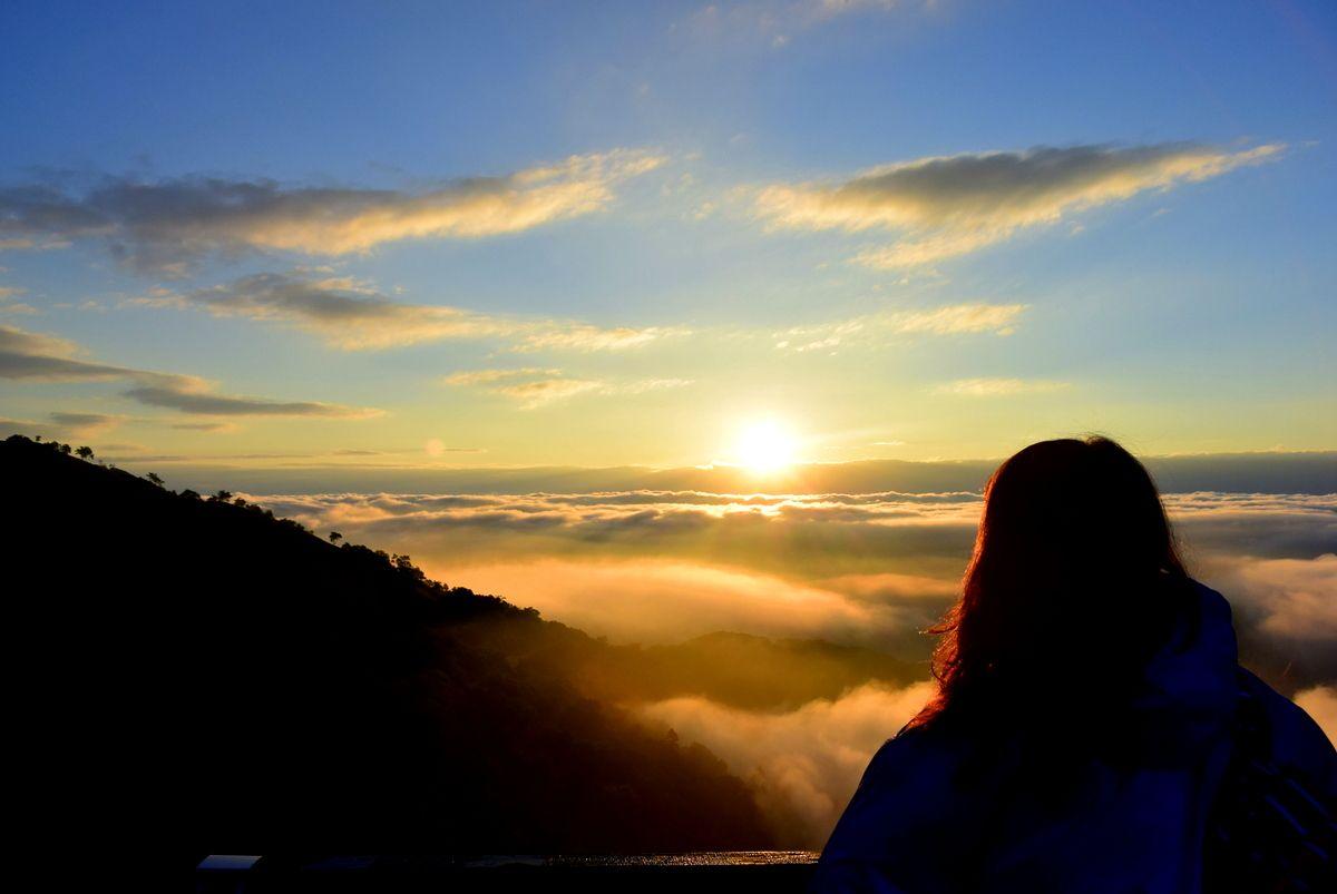 やっぱり「雲海テラス」で雲海を見たい!朝一番の循環バスでいち早くテラスへ