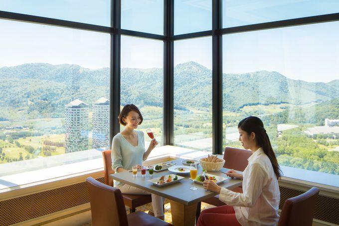 絶景朝食が楽しめる!「プラチナム」で朝ご飯
