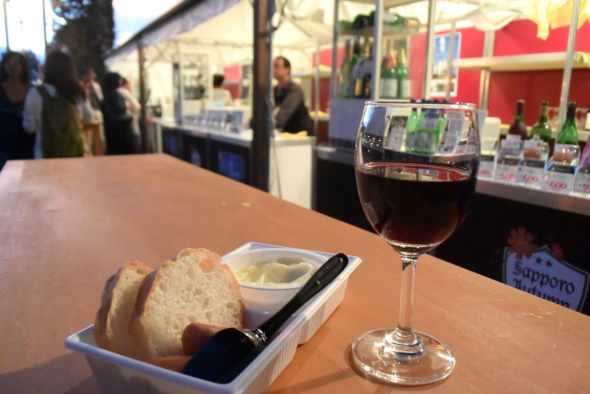 1丁目会場と7丁目会場のビールやワインも要チェック!