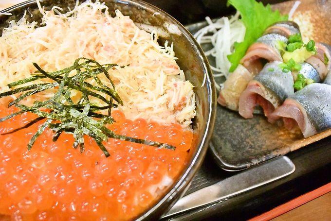 朝から海鮮が食べたいなら札幌市中央卸売市場場外市場へ!「味処 にっかい」はカニの名店