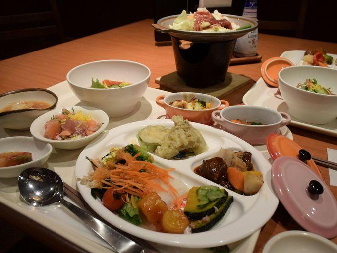 朝も夜も北海道の充実ビュッフェ。