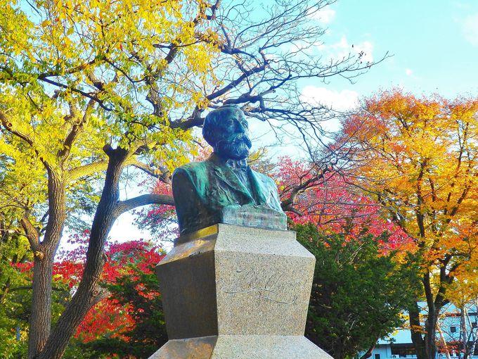 ポプラ並木にクラーク像!北海道大学の構内散策も楽しもう