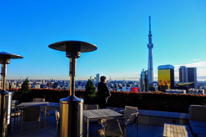 東京スカイツリーの特等席は天空に「ザ・ゲートホテル雷門 by HULIC」の絶景