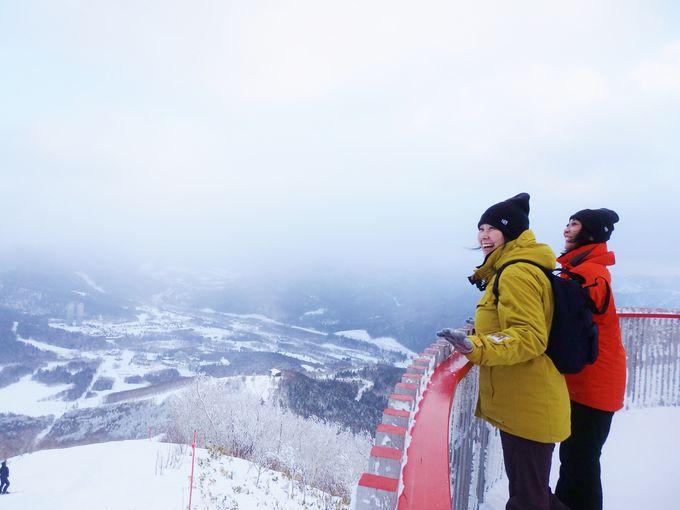 山の上で絶景に出会える「霧氷テラス」とは