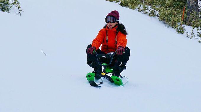 イチオシ!スピードと雪景色を体感する「スノーカート」