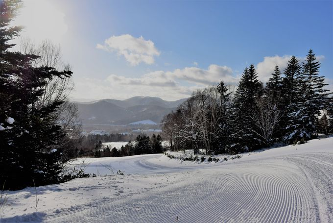スキーヤー気分でゲレンデの景色も楽しめる!必見の雪山絶景