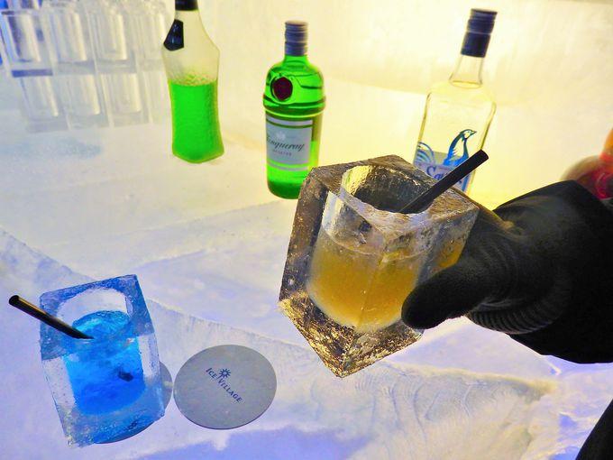 氷の世界を閉じ込める「氷のアトリエ」「氷のBar」