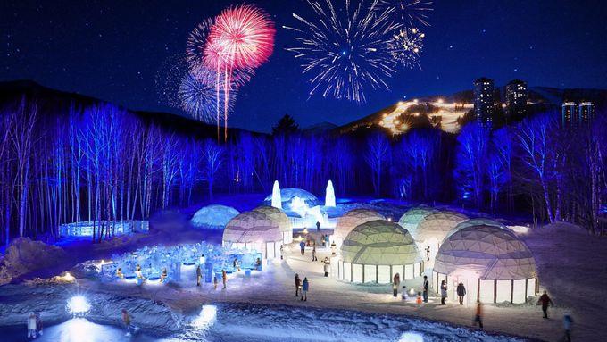 神秘的な空間と音色で満たされる「氷の教会」と「氷の楽器屋」