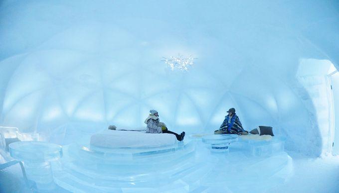 大人気の「氷のホテル」!2019年も星野リゾート トマムに登場