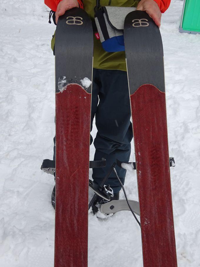 スキーシューって何?