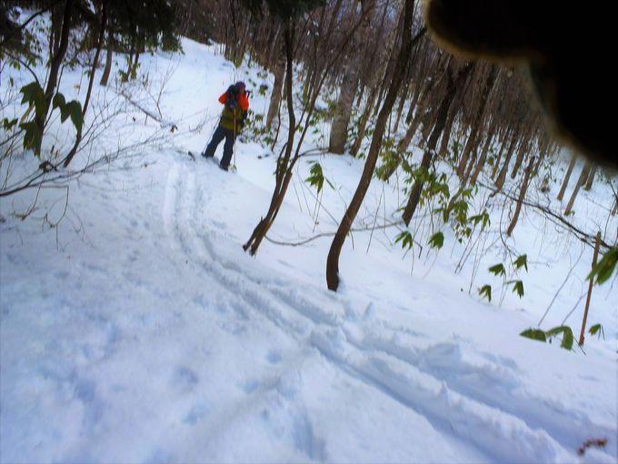 やっぱりスキーの醍醐味は下り坂!