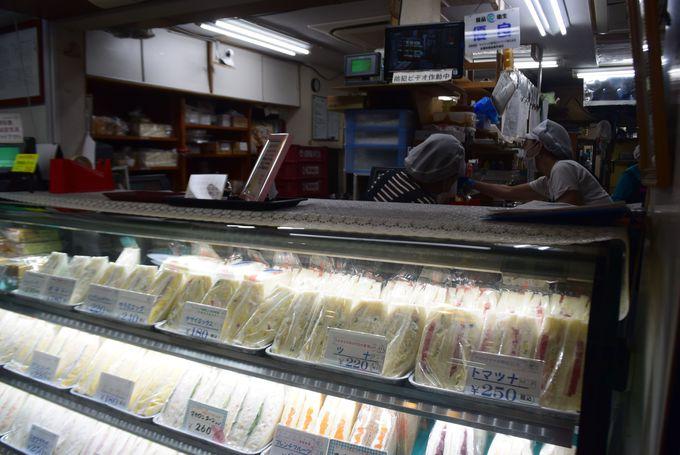お母さんの手作り!「サンドリア」のサンドイッチ