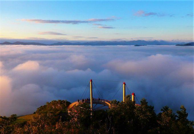「雲海テラス」に最も近い「トマム食堂」