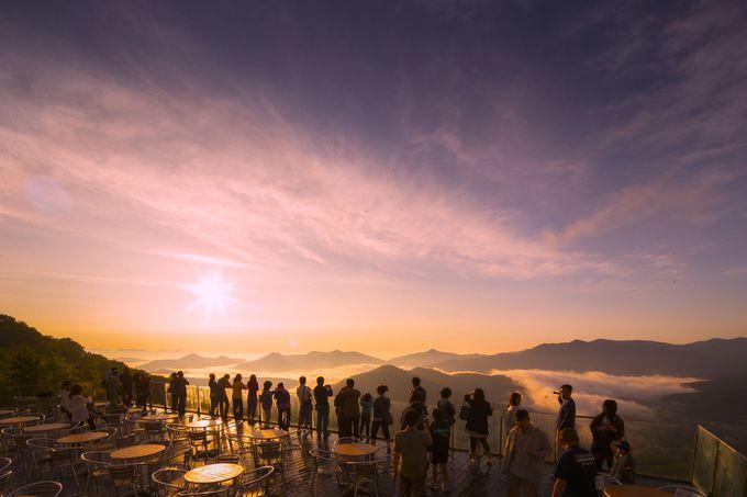 「鮭旅」プランとともに〜雲海テラスのサンライズは秋が旬