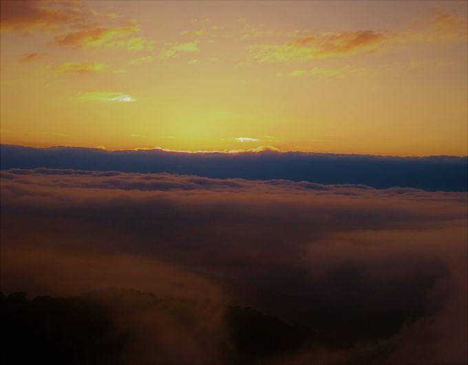 雲海がなくてもガッカリしない!夕暮れのマジックアワー