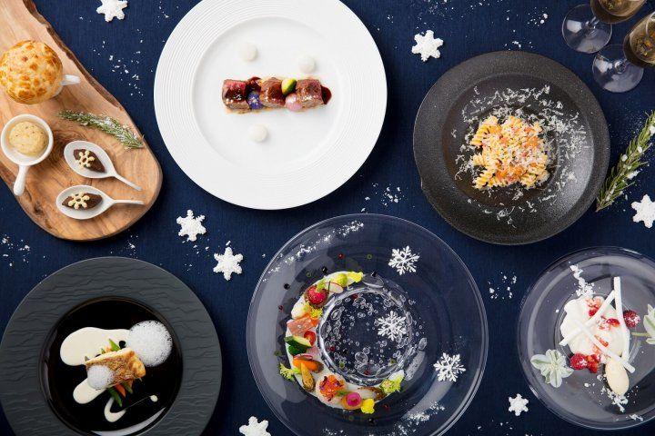 美しすぎる「雪ディナー」は美味しさも抜群!