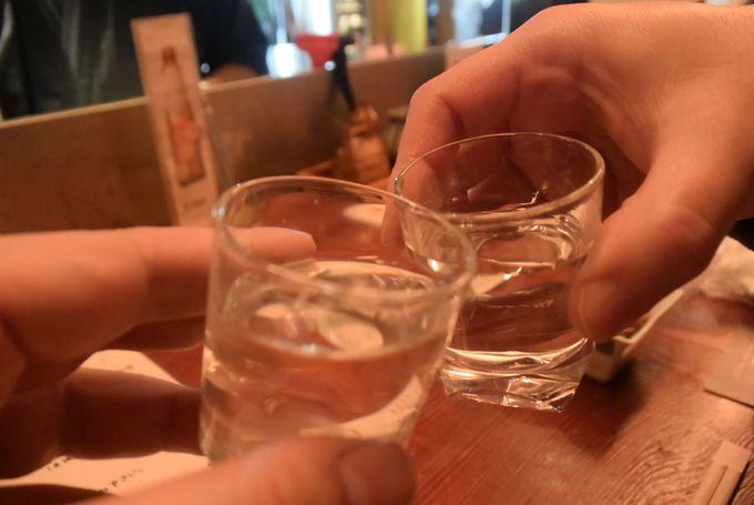 いざ、「小原庄助号」に乗って会津の居酒屋探検へ