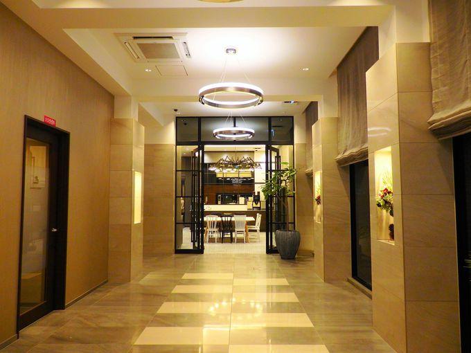 デザイナーズホテルのオシャレさに快適さがプラス