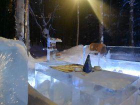 星野リゾート トマム「氷のティーパーティー」リアルファンタジーなキラキラ空間にときめき!