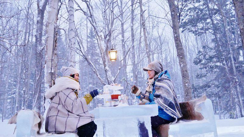 キラキラ夢みたい!星野リゾート トマム「氷のアフタヌーンティー」
