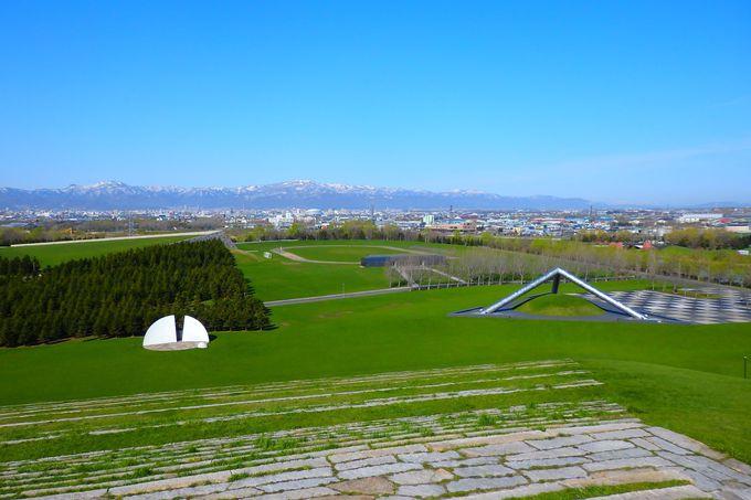 公園すべてが芸術作品!「イサム・ノグチ」の世界を楽しもう