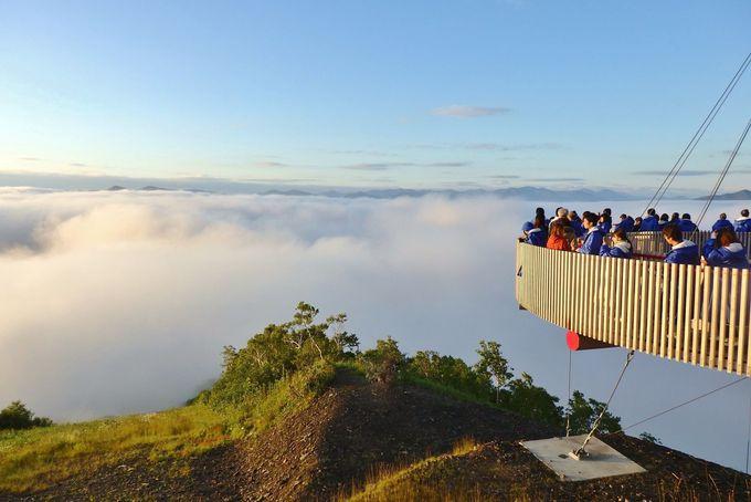 「雲海テラス」のチャンスは2回!心と身体が癒される究極の雲体験を