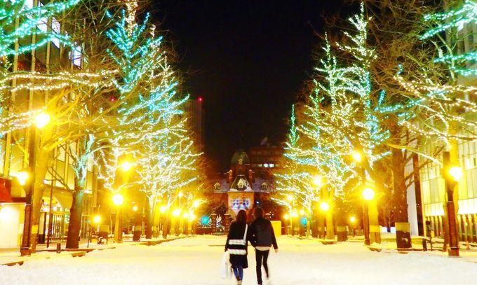 12月の札幌で必見!ホワイトイルミネーションとミュンヘンクリスマス市