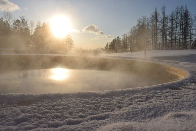 これがサホロのパウダースノー!冬リゾートの魅力を体験しよう