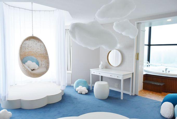 ふわもこに癒される「雲スイートルーム」とは?