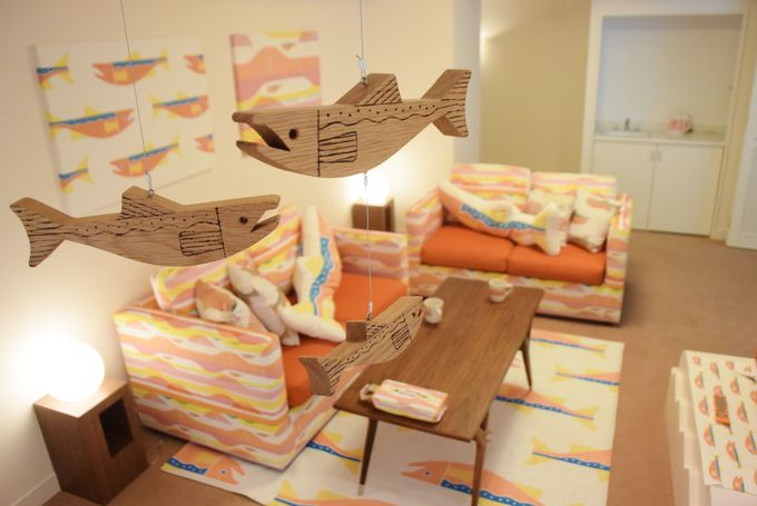 カワイイがあふれてる「鮭ルーム」ってどんな部屋?