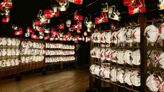 幻想的!星野リゾート 青森屋の館内で季節のイベントを楽しむ