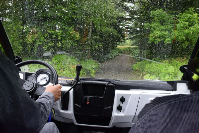 雨の日限定アクティビティ「トマムドロドロラリー」とは?