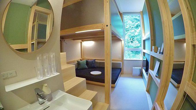 温泉行く?部屋ですます?「BEB5 軽井沢」は客室も面白い