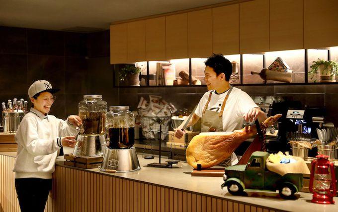 「星野リゾート BEB5 軽井沢」TAMARIBAと朝食メニューをチェック