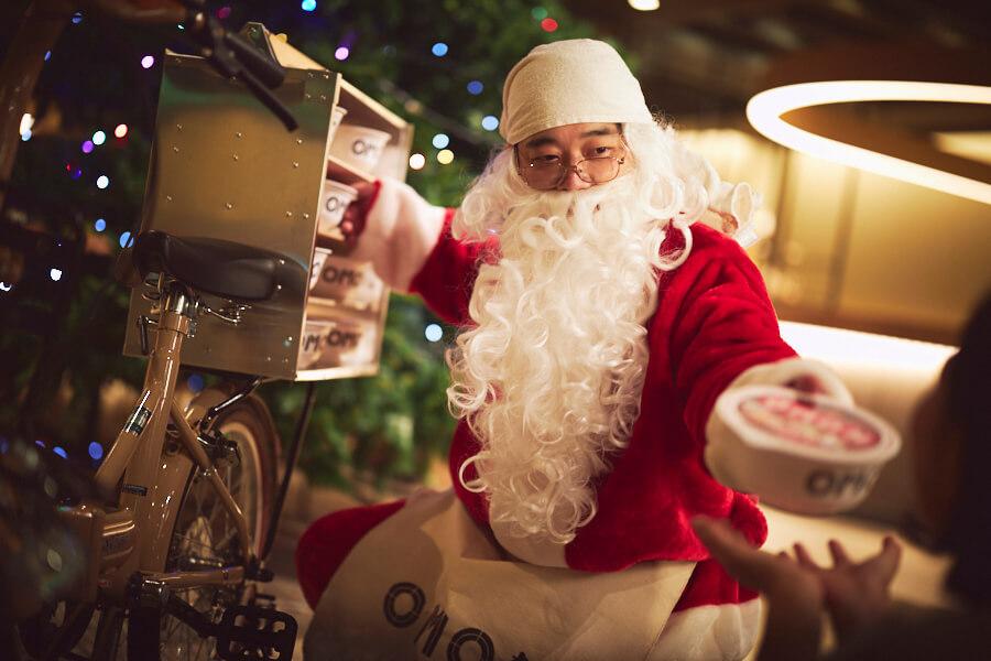 OMO7 旭川のクリスマスの仕掛けがお茶目でテンションUP