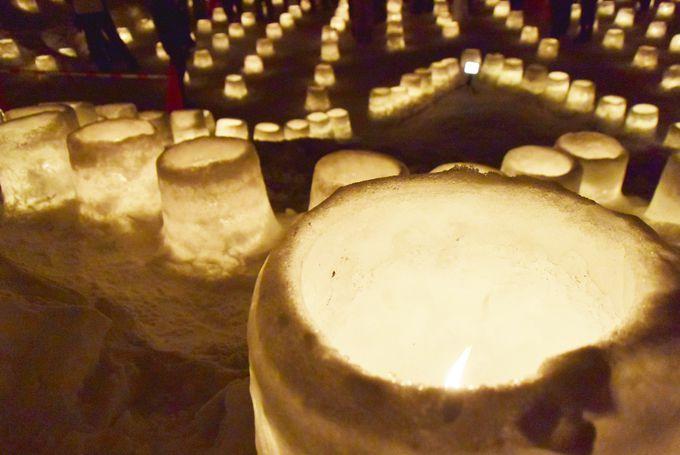 幻想的!冬の札幌「定山渓温泉雪灯路」とは