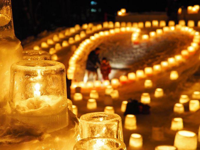 2020年の定山渓温泉雪灯路は10周年!札幌の温泉郷へ