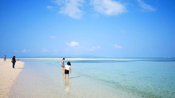 竹富島から歩いていける幻の島?白い砂浜・コンドイビーチ