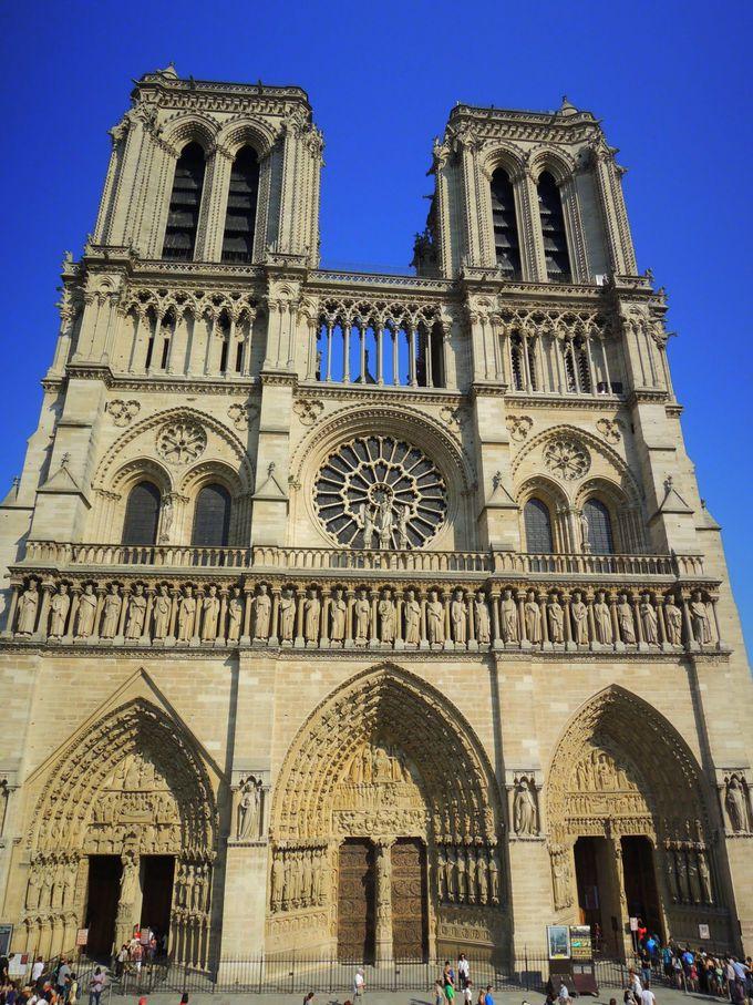 ここがパリの中心!ノートル・ダム大聖堂