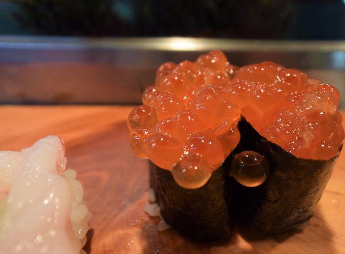 もちろん朝食も。お寿司や海鮮丼、焼き魚も美味!