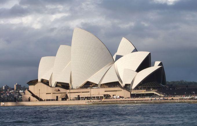 世界文化遺産のオペラハウス