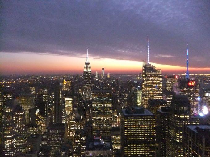 ニューヨークの夜景を独り占めしよう