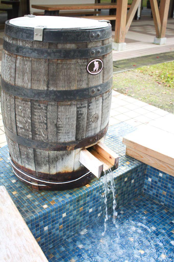 ウイスキーの樽からまさかの美人湯!湯の駅ラサンタで足の先から美しく