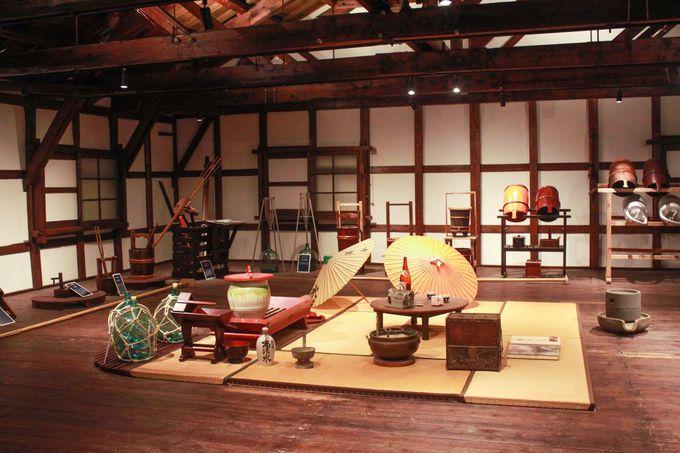 蔵人の技と息吹が伝わる資料館!伝統ある職人道具に触れる