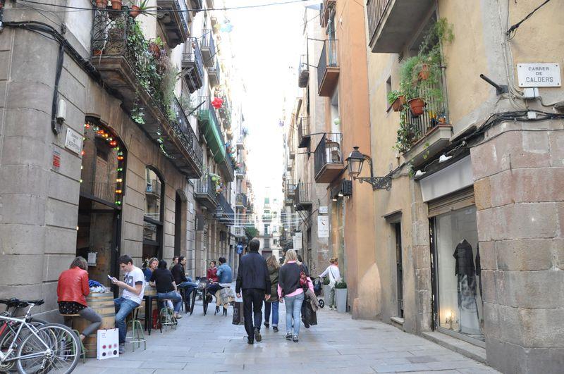 バルセロナのおしゃれエリア「ボルン」に行ってみよう