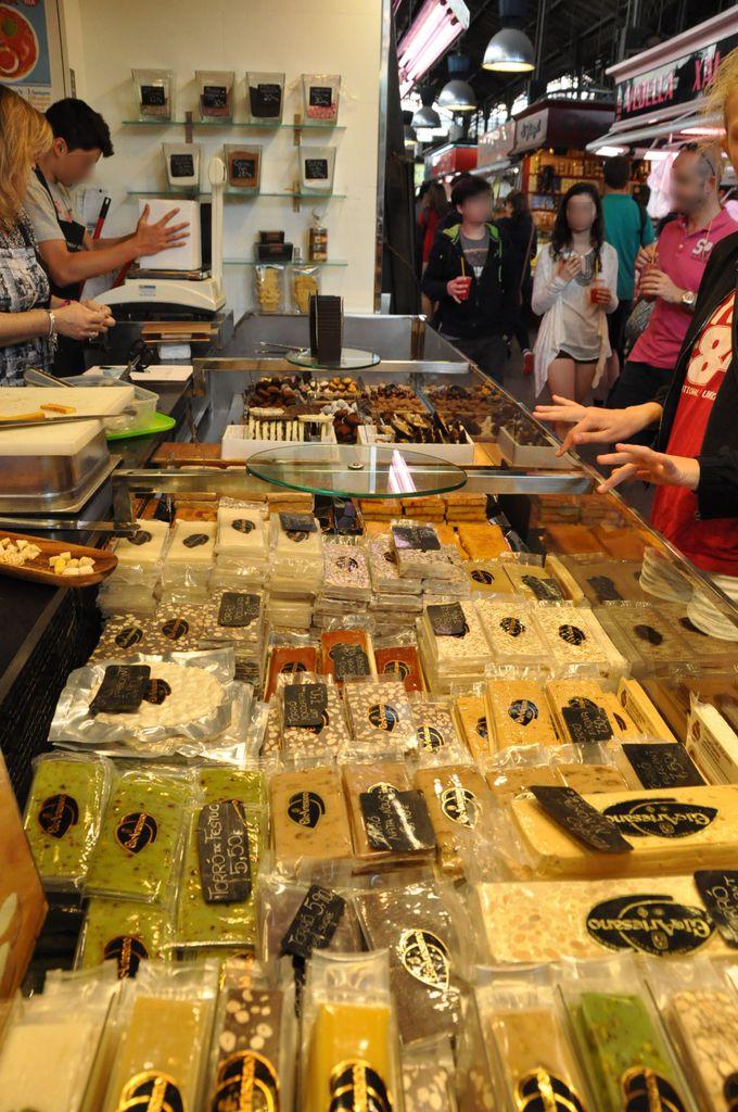 トゥロンのお店3「ボケリア市場」